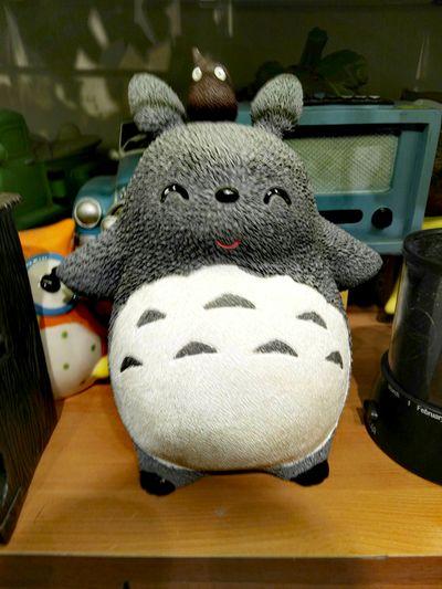 It's Totoro.😄😄 Hayao Miyazaki Totoro Indoors  No People Close-up Day