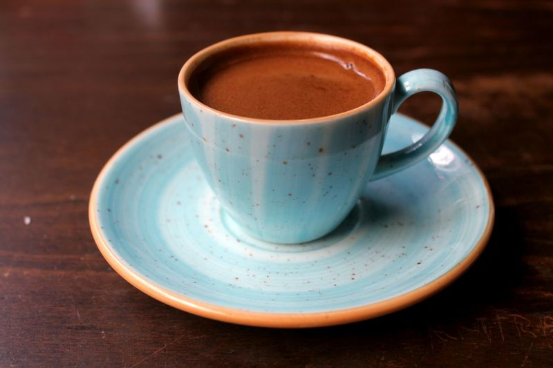 Close-up Turkishcoffee Drink Frothy Drink Table Saucer Coffee - Drink Cappuccino Tea - Hot Drink Coffee Cup Mocha Cup Latte Caffeine Hot Drink