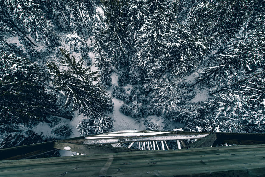 Aerial Architecture Beauty In Nature Birdsview Cold Temperature Day High Angle View Lake Nature Nautical Vessel No People Outdoors Snow Transportation Tree Water Winter