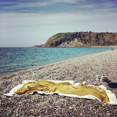 Today Now Milazzo Spiaggia Mare Relax Maggio Sun Scialè Goodtime