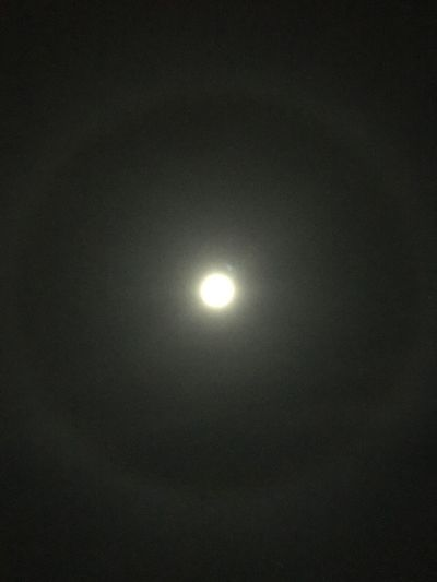 Moon ring Beauty In Nature Nightphotography Night Moon Shots Moon Night Astronomy Beauty In Nature Nature Scenics Moonlight Natural Phenomenon Illuminated No People Outdoors Space Sky Crescent