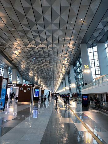 Soekarno - Hatta AirPort 02 Airport Runway Airportphotography Airport Terminal Airport Photography Architecture Built Structure Transportation Group Of People Ceiling Indoors  City Travel Mode Of Transportation Airport Airport Terminal Modern Lifestyles