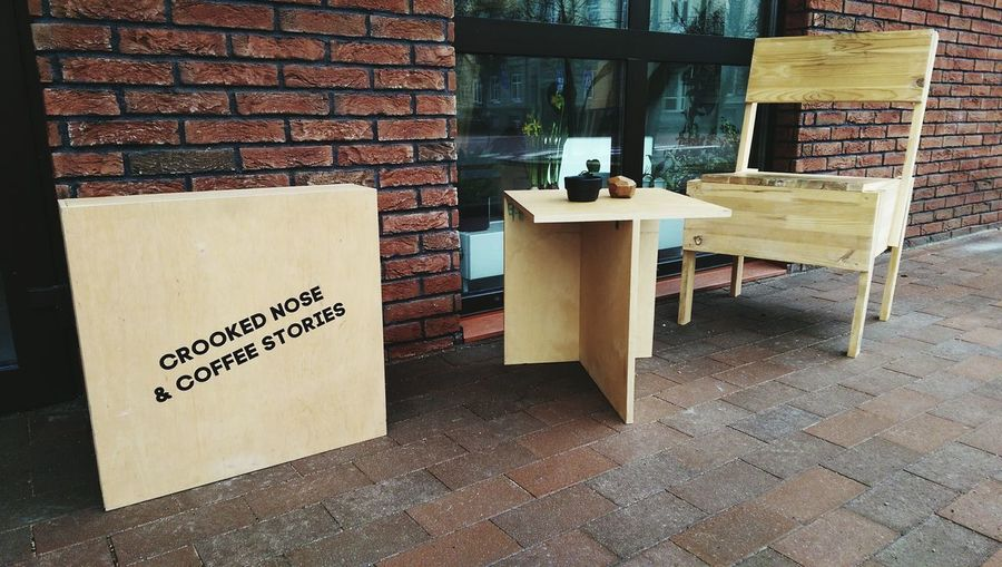 Exterior Coffee Coffee Time Caffè Caffee Table Chair Nobody Quotation Urban Street Cafe