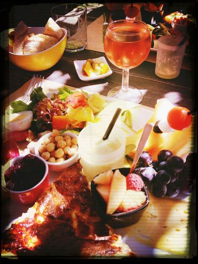 Summertime Resto Enjoying A Glass Of Wine ????? Foodporn