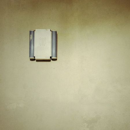 #doorbell #minimalist Architecture Built Structure Copy Space Day Indoors  No People