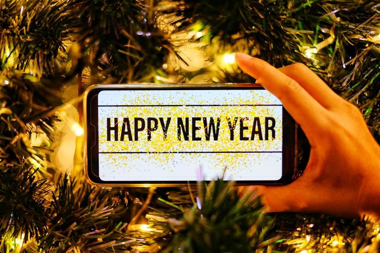 Happy New Years New Year christmas tree 2019 Christmas Lights Tree Communication Text Guidance Close-up Christmas Ornament Christmas Decoration Christmas Santa Claus Christmas Present Santa Hat Christmas Stocking Christmas Market Decorating The Christmas Tree Christmas Bauble