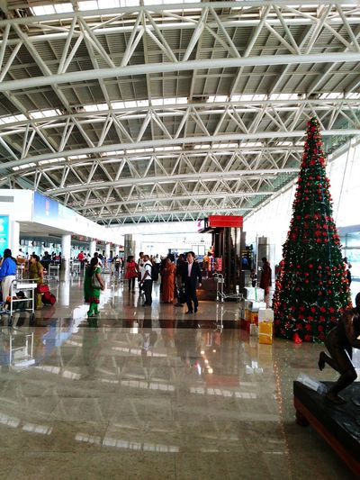 Urban Lifestyle Chennai Merrychristmas❄️ At The Airport People