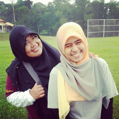 Beautiful aini and me <3 Classmates Uitmdihatiku Accountancy Friends