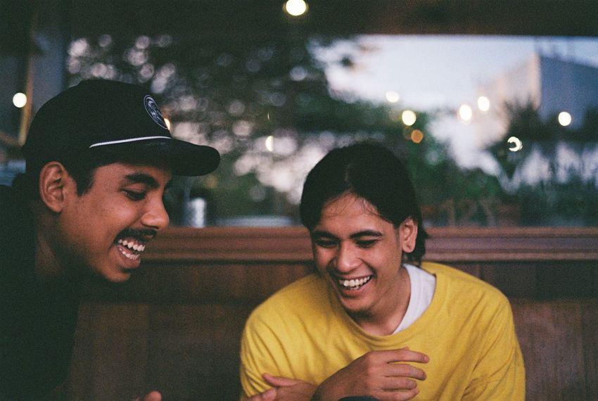 35mm Analogue Photography Asian  Coffeeshop Film Film Photography Filmcamera Headshot Illuminated Kodak Leisure Activity Lifestyles People