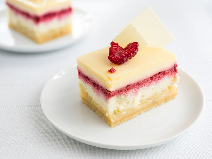 The only way to get rid of temptation is to yield to it. (Oscar Wilde) Cake Dessert Food Indulgence Raspberry Ready-to-eat Sweet Food Temptation Unhealthy Eating