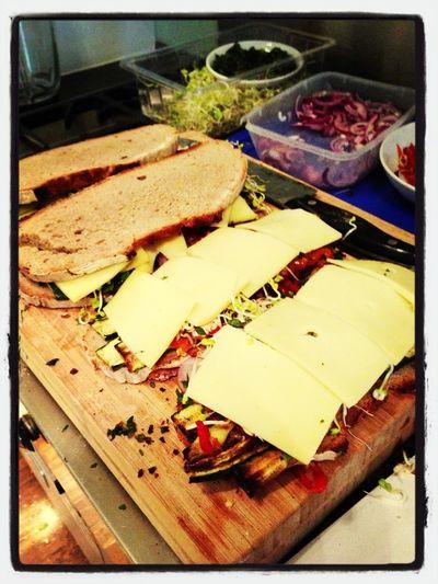 sandwich time at the soundcloud hq