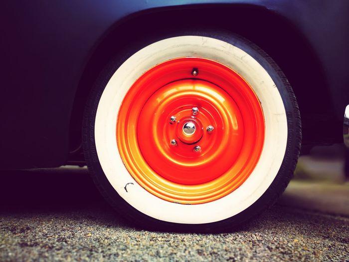 What A Color! Kustomkulture Kustomz Customcars USclassic Tire Wheel Close-up