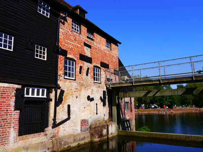 Architecture Building Exterior Built Structure Clear Sky Day Houghton Water Mill National Trust National Trust 🇬🇧 No People Outdoors Sky Water