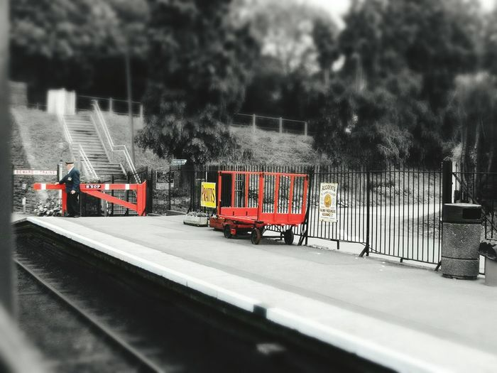 Steam Railway Summer Memories 🌄 Black And White With A Splash Of Colour North Somerset Railway Uk Bishops Lydeard Station