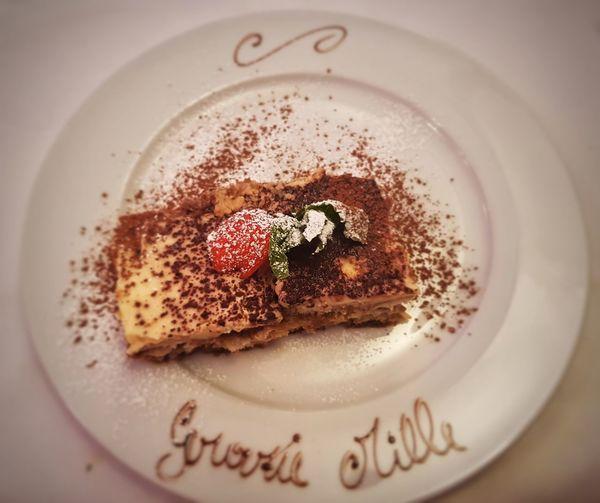 EyeEm Selects Plate Dessert Text Close-up Sweet Food Powdered Sugar Sprinkling