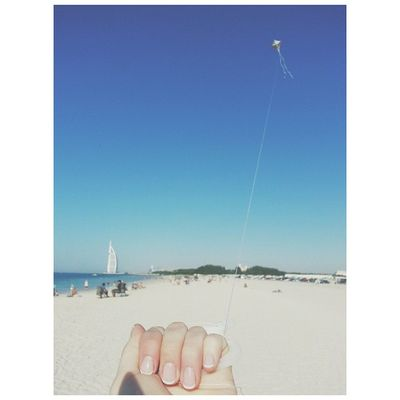 ~~ Enter cheesy caption about never letting go important things in your life here ~~ ☀ Burjalarab Kite Yeww
