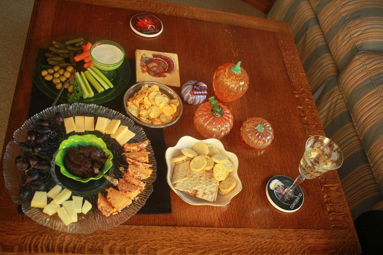 Thanksgiving party appetizers and decots Appetizers And Wine Baked Cheese! Close-up Day Dessert Food Food And Drink Freshness Fruit Glass Pumpkins Gourmet Healthy Eating Indoors  Indulgence Meal No People Party Foods Ready-to-eat Serving Dish Serving Size Sweet Food Temptation Variation