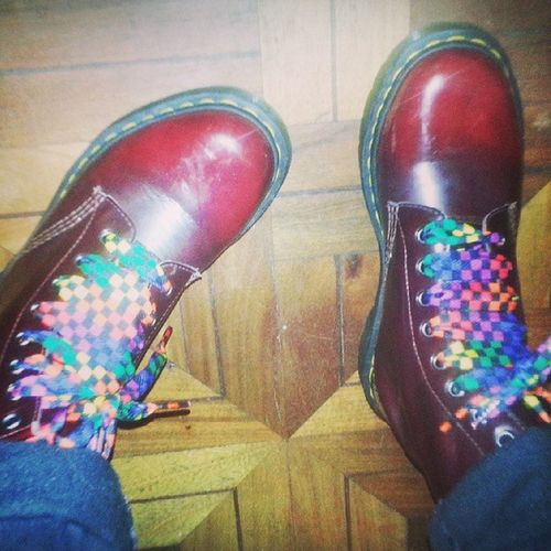 my Dr .martens Cherry Red *0* Vkstyle Crowshiro Crowstyle