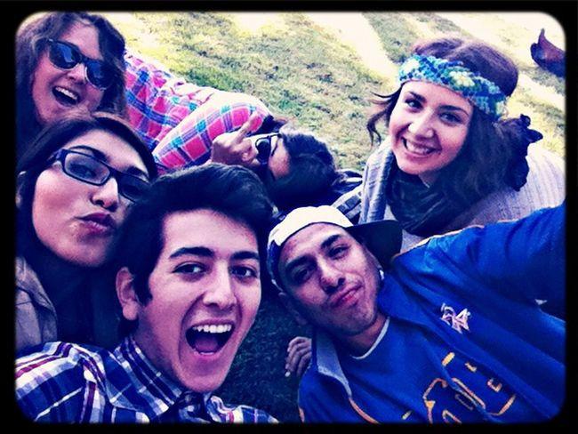 Friends Hello World Enjoying Life
