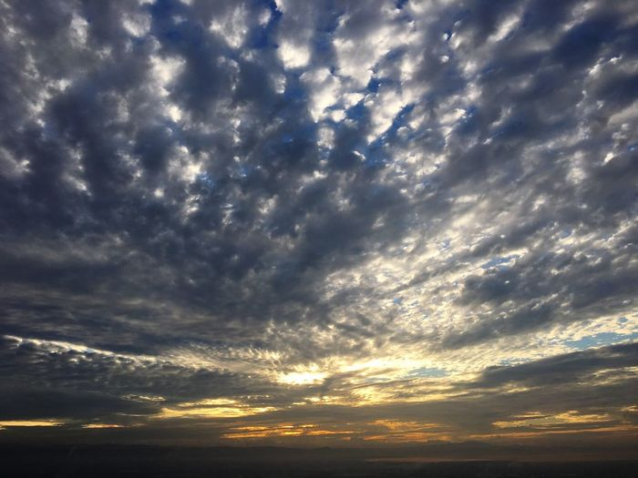Mornings in the metro Cloud - Sky Sky Sunset Beauty In Nature Dramatic Sky Scenics Nature Atmospheric Mood Low Angle View Tranquility Cloudscape No People Backgrounds Tranquil Scene Outdoors Storm Cloud Sky Only Day