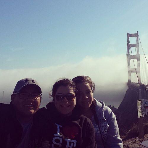 Golden Gate Bridge Roadtrip Awesomebridge Superfoggy LoveSanFran