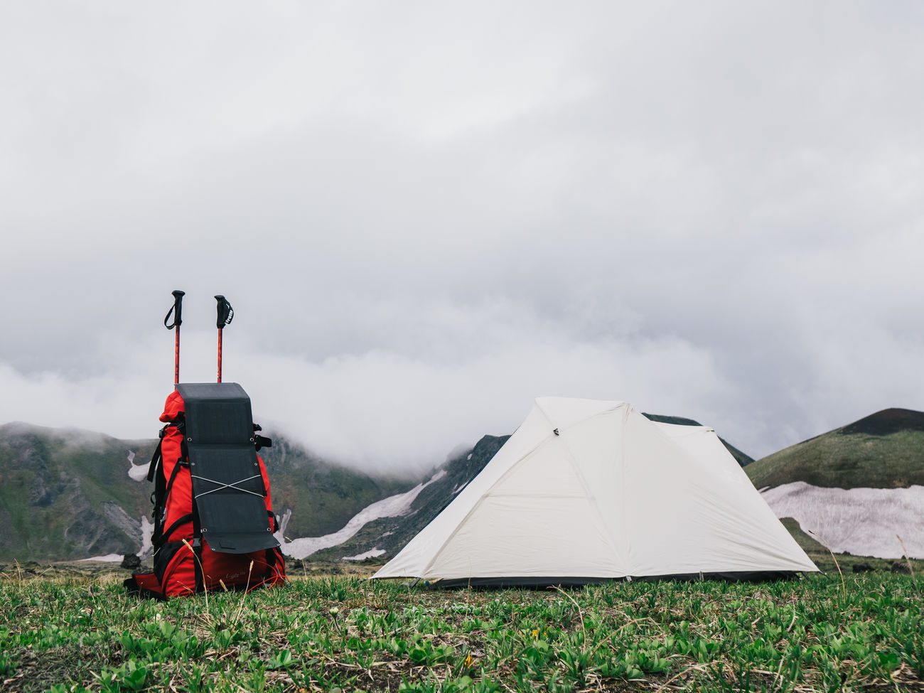 sky, adventure, tent, camping, day