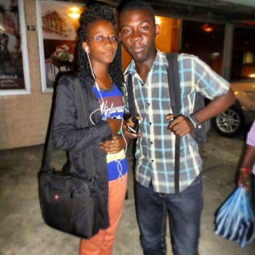 With Eva Fenty at Abz... @lioness_237 L4l Doubletap Douala