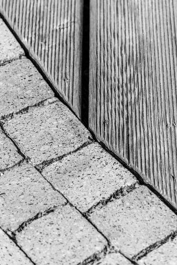 Building Exterior Contrasts Day No People Outdoors Paving Stone Repetition Stone Wooden
