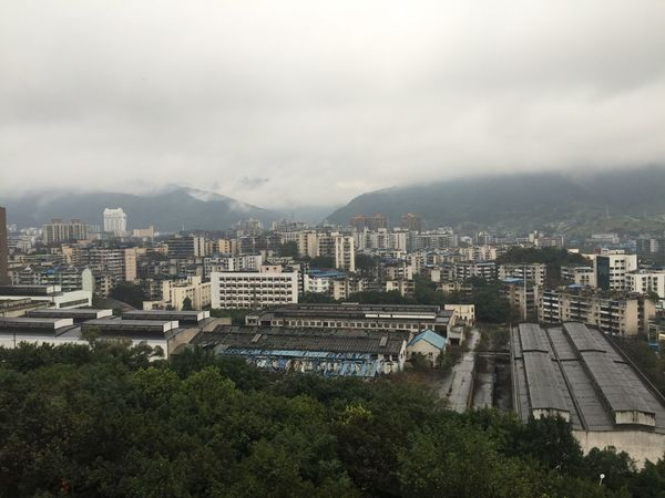 喜欢重庆的雨