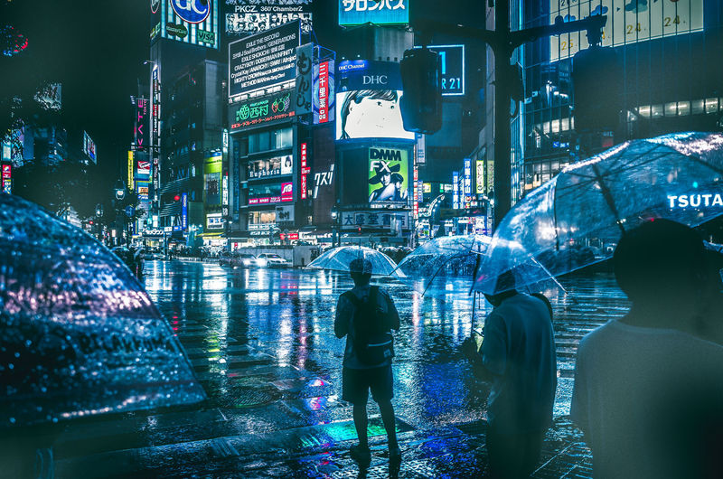 Edit ver.EyeEm Shibuyascapes ◀️☔️🚶🌃🇯🇵 Drastic Edit Cinematic Photography Cyberpunk Envision The Future Human Meets Technology Futuristic All The Neon Lights Japan Looking Into The Future Rain Shibuya Shaping The Future. Together. Tokyo City Crowd Illuminated Light And Shadow Night People Rainy Day Skyscraper Street Travel Destinations Urban Mobility In Mega Cities Mobility In Mega Cities Stories From The City Visual Creativity HUAWEI Photo Award: After Dark Humanity Meets Technology My Best Photo