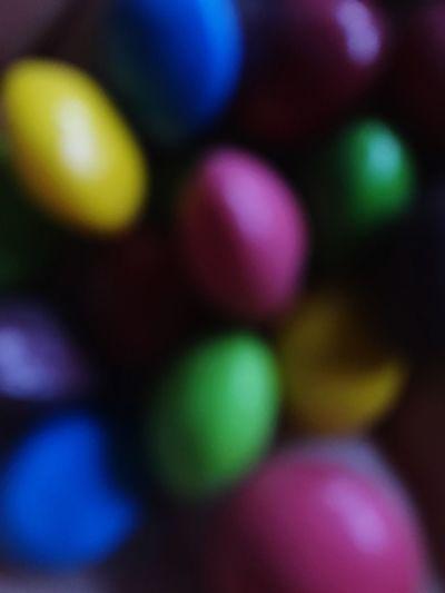 Multi Colored Close-up Food Skittles ♥ Rainbow Taste The Rainbow 🌈