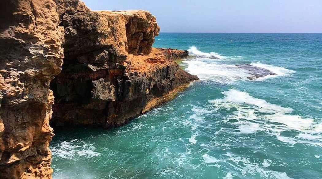 The Great Outdoors - 2017 EyeEm Awards ExploringOceans EyeEm Nature Lover Eyeemphotography Outdoors Beauty In Nature Day Water Ocean Nature Sea Rocks No People Landscape SPAIN Cliff