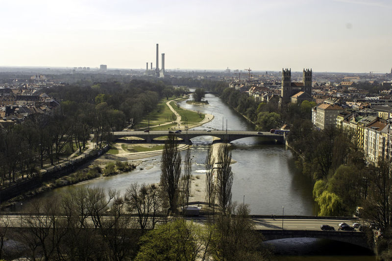 Architecture Bavaria Bayern Building Exterior Built Structure City City Life City Street City View  Cityscape Cityscapes Human Settlement Ingolstadt Outdoors Overview Overviewing River Skyline Water