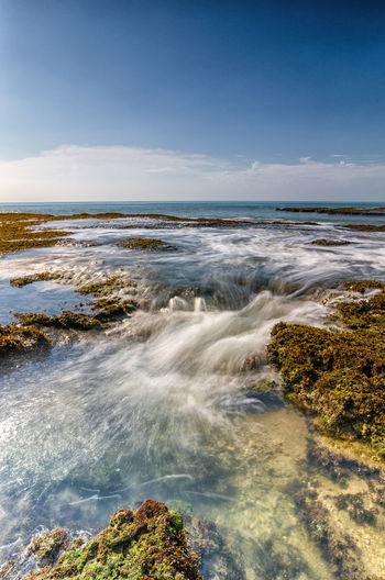 Little Motion from Anyer Beach INDONESIA Beauty In Nature Day Horizon Over Water Indonesia Photography  Landscape Motion Nature No People Outdoors Scenics Sea Sky Tranquil Scene Tranquility Water Wave