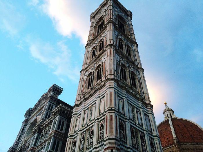 Cattedrale di Santa Maria del Fiore Architecture Building Exterior Tower Sky Place Of Worship Façade Duomo Di Firenze First Eyeem Photo