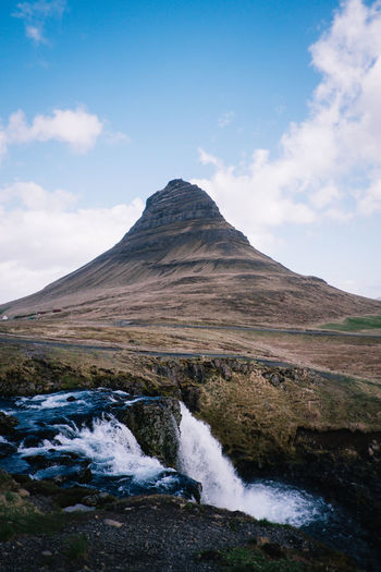 iceland Roadtrip Beauty In Nature Cloud - Sky Day Environment Flowing Flowing Water Idyllic Land Landscape Mountain Mountain Peak Mountain Range Nature No People Non-urban Scene Outdoors Rock Scenics - Nature Sky Tranquil Scene Tranquility Water Waterfall Waterfall_collection Waterfalls