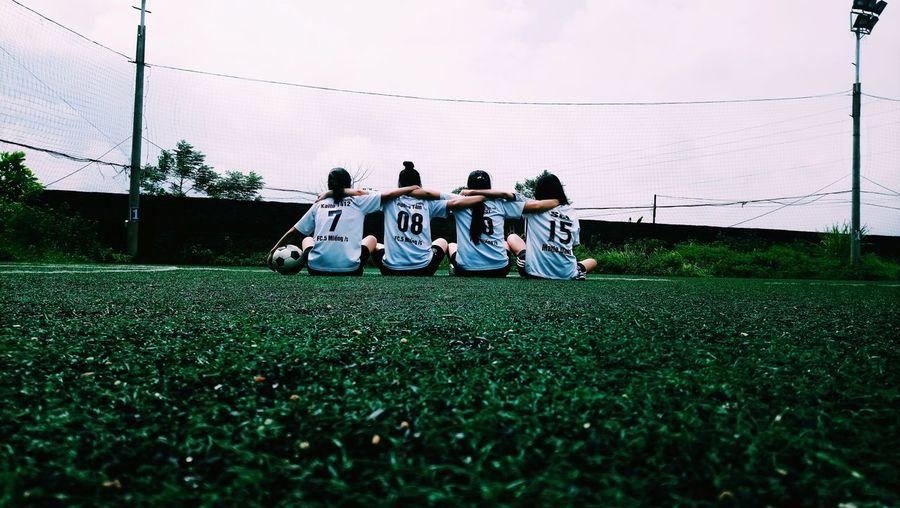 Hay lắm các bạn 💙 Sports Team Soccer Uniform Athlete Soccer Field Teamwork Sports Uniform Friendship Child Sports Clothing Soccer Player