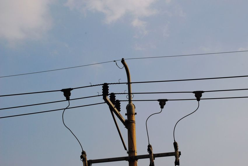 Cable Electricity  Power Line  Power Supply Lighting Equipment Electricity Pylon Technology Sky Telephone Line