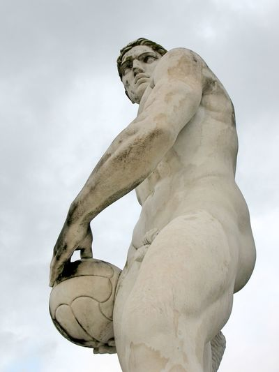 waiting for Rio Art Athlete Athletics Close-up Cloud Cloud - Sky Cloudy Creativity Euro 2016 Focus On Foreground Low Angle View Monument Muscles Sculpted Sculpture Sky Sports Sports Photography Sportsman Stadio Olimpico Statue