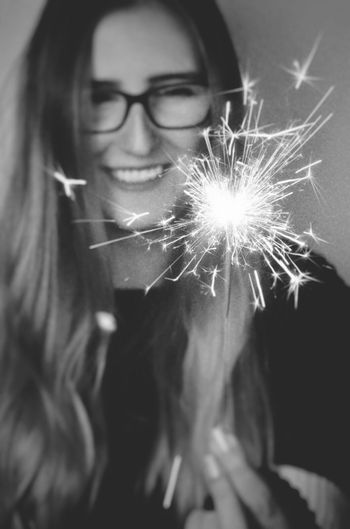 One Person Sparkle New Years Eve Jackysart Smile