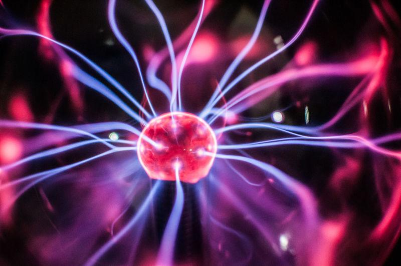 Abstract Backgrounds Esoteric Glowing Lightning Magenta No People Phisics Plasma Globe Plasma Ball Plasma Lamp
