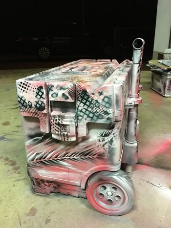 LOLLY TROLLY LOLLIPOP Graffiti Ladybug Pink Stencil Transport Trolly Day Graffiti Art Indoors  Lollilolli Lollipop Lollipops No People Pink Color Pink Flower Spray Can Art Spray Paint Sprayart Streetart Tire Tool Toolbox Transportation Wheels