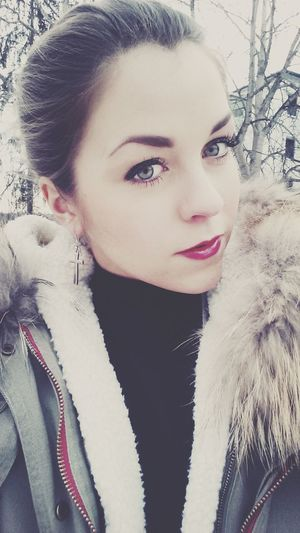 one of those cold days . That's Me Winter Redlips