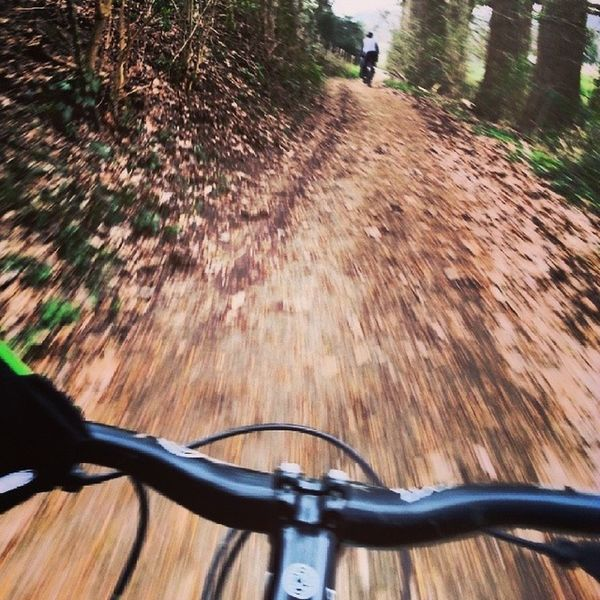 Just came back from an 33 km up and down hill epic mountain bike ride with my hosts in the Ruhr Area. Good fun and loved the exercise • TstGermany • Cycling Mountainbiking