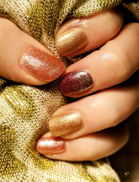 EyeEm Selects Nail Polish Fingernail Fashion Luxury Beauty Product Shiny Manicure Nail Art Nailporn Naildesigns Glow Nails Colour Rich Shades Of Gold Golden Color Golden Make Up Golden