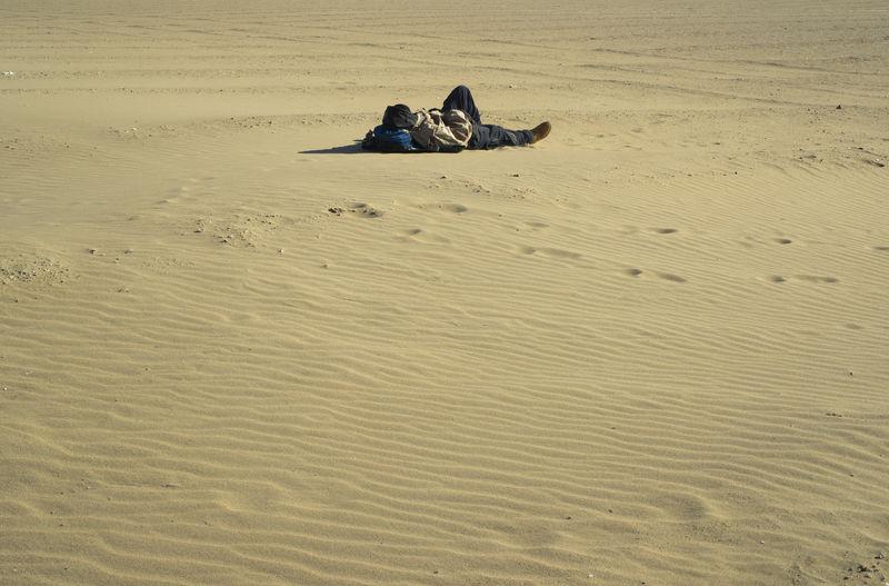 Army Desert Man Sand Soldier Solitude The Photojournalist - 2018 EyeEm Awards