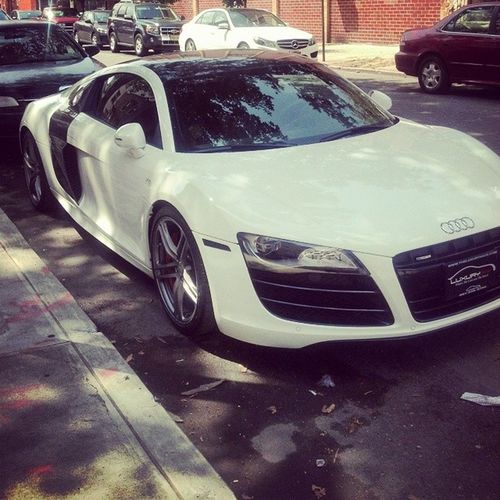 Got to ride in this beauty today. Thanks, boss. R8 Shakennotstirred