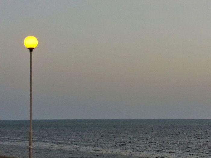 Street Lamp Sea