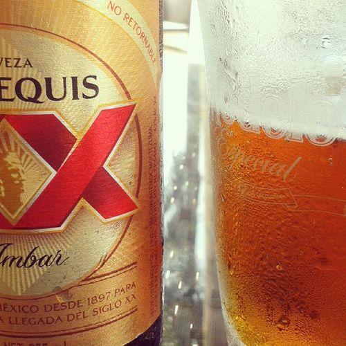 Cerveza Xxequis Ambar Beer Mexico
