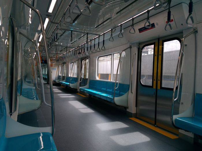 Water Window Passenger Train Public Transportation Train Interior Metro Train Commuter Train Vehicle Seat Railroad Station Rail Transportation Train Subway Train Railroad Station Platform Railroad Track
